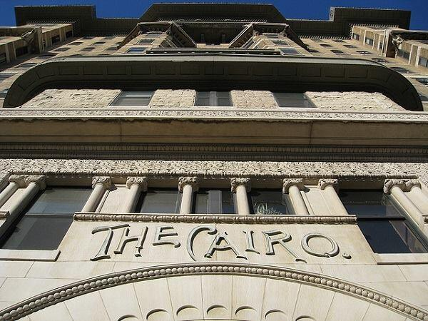 The Cairo, the tallest residential building in the District, prompted Congress to pass the Height Act of 1910.