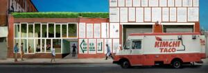 The Brooklyn storefront that Benjamin is designing with Paleo Studio for the salvage company Build It Green! NYC.