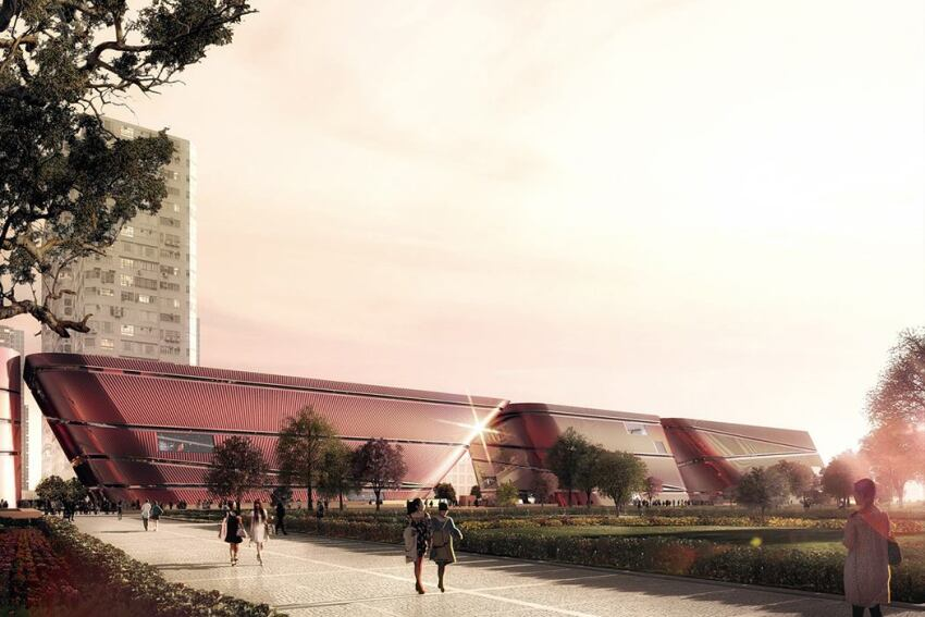 Mecanoo Breaks Ground on First Built Project in China