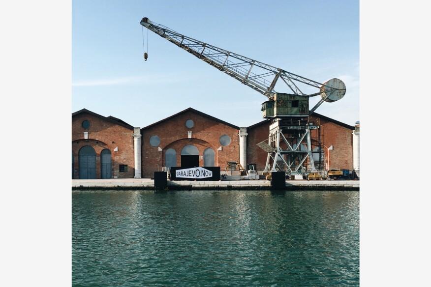 Sarajevo Now exhibition at the 2016 Venice Biennale