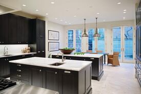 Classic Lines Bring Elegant Design to an Outdated Kitchen
