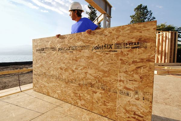 Oriented Strand Board : How it s made oriented strand board ecobuilding pulse