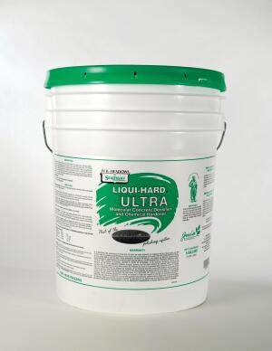 Liqui-Hard Ultra concrete densifier and chemical hardener from W.R. Meadows is a ready-to-use, colorless liquid that hardens and dust-proofs concrete at a molecular level. A surface finished with the product exhibits improved abrasion and chemical resistance, durability, and sheen compared to untreated concrete. As Liqui-Hard Ultra penetrates into the concrete surface, a chemical reaction takes place, producing a byproduct that fills in the pores of the concrete one molecule at a time, eliminating dusting and pitting. With no brushing or rinsing required, the water-based, zero-VOC product is sprayed on and left moist on the surface of concrete for 20 minutes. wrmeadows.com