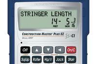 Calculated Industries Construction Master Plus EZ Prompting Calculator