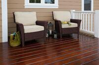 Cabot Gold Exterior Gives Outdoor Wood a Furniture Finish