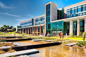 Sangren Hall, Western Michigan University in Kalamazoo, Michigan by SHW Group.