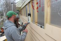 Rainscreen Clapboard Siding for an Energy-Efficient Island Remodel