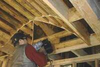 Framing a Barrel-Vault Ceiling