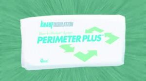 INSIDE PERIMETER: Specifically designed for use with the Blow-in-Blanket System, Perimeter Plus  is a blow-in insulation that offers consistent coverage within a wall cavity  and results in a high R-value, the company says. It delivers up to an  R-15 in 2x4 walls and an R-23 in 2x6 walls, the maker adds. Knauf Insulation. 800-825-4434. www.knaufinsulation.com.