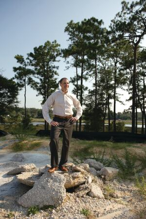 "Intestinal Fortitude David Smith, president of GreenPointe Homes in Jacksonville, Fla., says that starting a new company requires ""patience"" and ""the stomach for it."" His company has nearly 2,000 homesites in different stages of development."