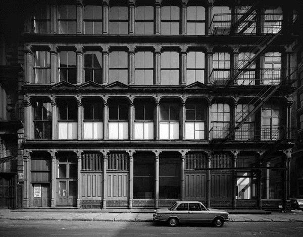 The Donald Judd House and Museum at 101 Spring Street, 1974.