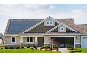 Cobblestone Homes uses Dow Powerhouse solar shingles.