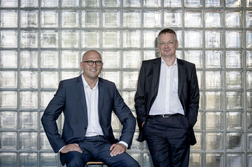 Jürgen Hess (left) and Felix Grönwaldt (right) to head new Board of Management at Berlin-based lighting manufacturer Selux.