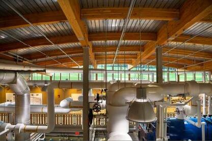 Biomass Heating Plant, Hotchkiss School