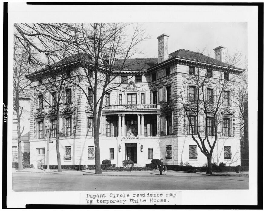 The Beaux-Arts exterior, as originally designed by Stanford White.