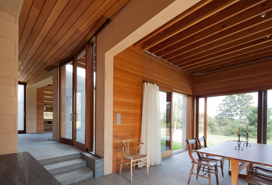 East House, Peter Rose + Partners, Chilmark, Mass.
