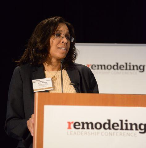 EPA RRP Chief Tanya Mottley at the Remodeling Leadership Conference