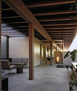 Composed of a series of courtyards that flow into the interiors, Fauntleroy II, finished in 2002.