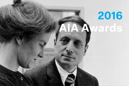 2016 AIA Gold Medal: Robert Venturi and Denise Scott Brown