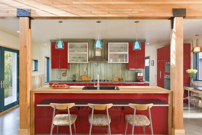 The Red Cottage Kitchen