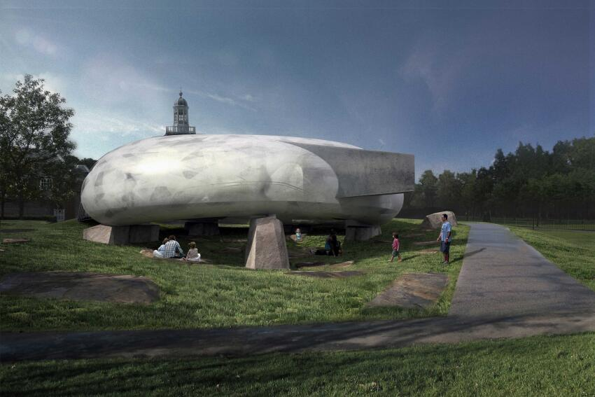 2014 Serpentine Gallery Pavilion - External indicative CGI