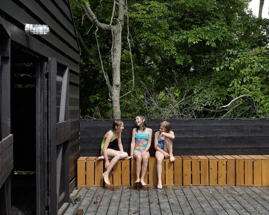 Camp Daisy Hindman Shower Facility, Dover, Kan.