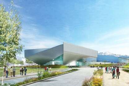 Going for Gold: Diller Scofidio + Renfro Reveals Athlete-Inspired U.S. Olympics Museum for Colorado