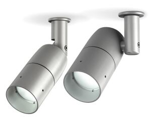 Designed specifically for low-voltage systems, the Lumière Cambria 203 LED allows halogen and LED fixtures to be integrated on the same 12-volt circuit. Its maker, Cooper Lighting, says the MR16-style module uses a thermal feedback control circuit that monitors its own temperatures and modifies operation to optimize performance. The landscape fixture is made from corrosion-resistant aluminum or solid brass, bronze, copper, or stainless steel with a painted or unpainted finish. Cooper Lighting, 770.486.4800; www.cooperlighting.com.