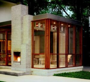 Modern Screen Custom Home Magazine Porches