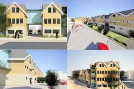 Flats New Build Multiple Residential