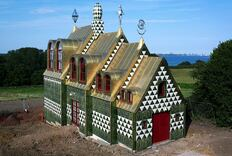 FAT and Artist Grayson Perry Collaborate on Quirky Vacation House