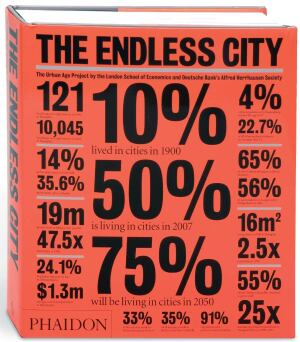 BOOK  The Endless City  Edited by Ricky Burdett and Deyan Sudjic  For the first time in history, more than half of the world's population resides in cities. Out next month is a 512-page tome, illustrated with close to 1,900 photographs, maps, and diagrams, that surveys the social, structural, and economic forces shaping the 21st century city. Six metropolises undergo analysis: New York, Shanghai, London, Mexico City, Johannesburg, and Berlin. Sudjic, director of the Design Museum in London, and Burdett, director of the Urban Age Project, include essays from participants in recent Urban Age conferences including Herzog and de Meuron and Rem Koolhaas. Together, they examine the changing nature of work, transportation, and social cohesion; the role of conflict in urban development; and how to design cities of the future.   Phaidon; $59.95