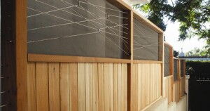 """When selecting the mosquito screen, Rolt reviewed the stock of screens at the hardware store. """"Based on the feel and look, I bought a yard of it and tested it in the store, trying to tear it,"""" he says."""