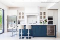 10 Beautiful Blue Kitchen Islands