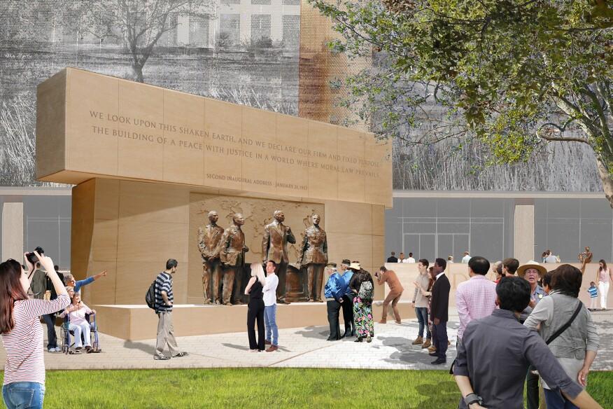 President Eisenhower Sculptural Grouping