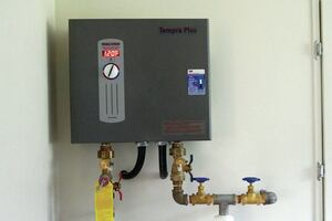 Electric Water Heating for a Low-Load Home