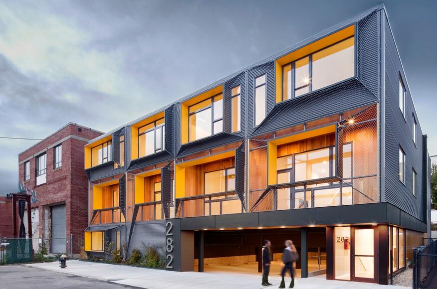 Marginal Street Lofts Merge Architects