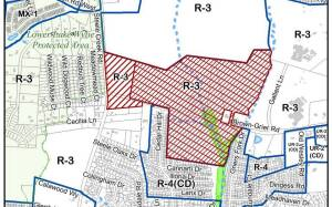 The proposed Charlotte-Mecklenburg rezoning plan, which will be discussed on August 11th.