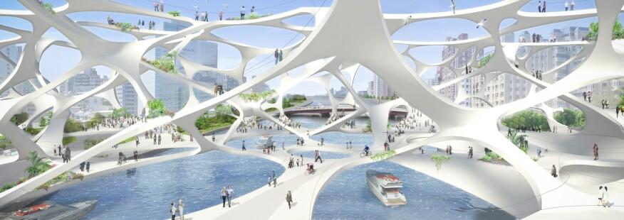 Foam Form, by Akihisa Hirata Architecture Office and Kuramochi + Oguma