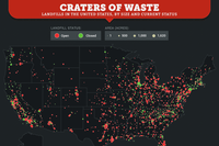 How Much of the U.S. is Covered in Landfills?