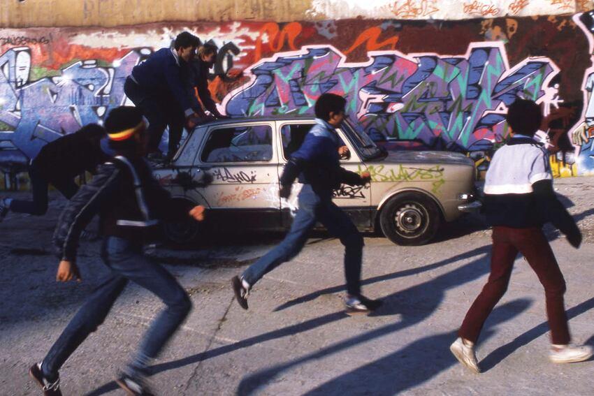 Born In The Streets Graffiti