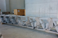 Concrete Beam Made with 3D Printer