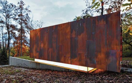 Studio for a Composer, Spring Prairie, Wis., by Johnsen Schmaling Architects