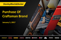 SB&D Buys Craftsman Brand for $900M