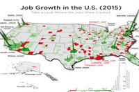 Job Growth is Spiking in these Parts of the U.S.