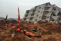 Report Shows Construction Debris Played Part in Shenzhen Landslide