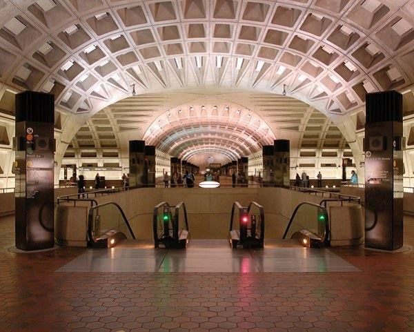Designed by Harry Weese in the 1960s, the Washington, D.C., Metrorail system won the 2014 AIA 25-Year Award.