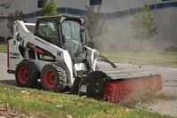 Bobcat + M series durable skidsteer loaders