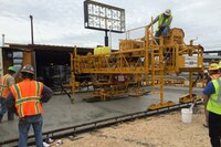 Terex Bid-Well Paver features new engine for durability