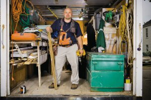 Donnie Settlemoir, Custom Carpentry of New England, Stage 1